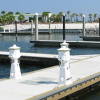 Slide - dock accessories - power pedestals