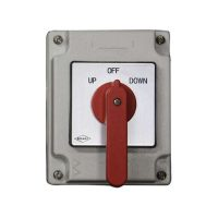 boat lift accessories - Bremas Maintain Drum Switch (RED HANDLE)