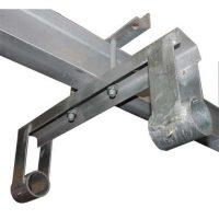 boat lift parts - Galvanized Dual Pipe Support for Boathouse Lift