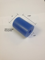 boat lift parts - 1000 housing roller w dimensions