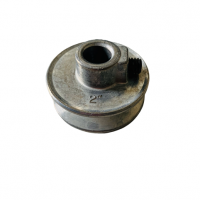 two inch aluminum pulley for 1/2 inch shaft 48 frame motor
