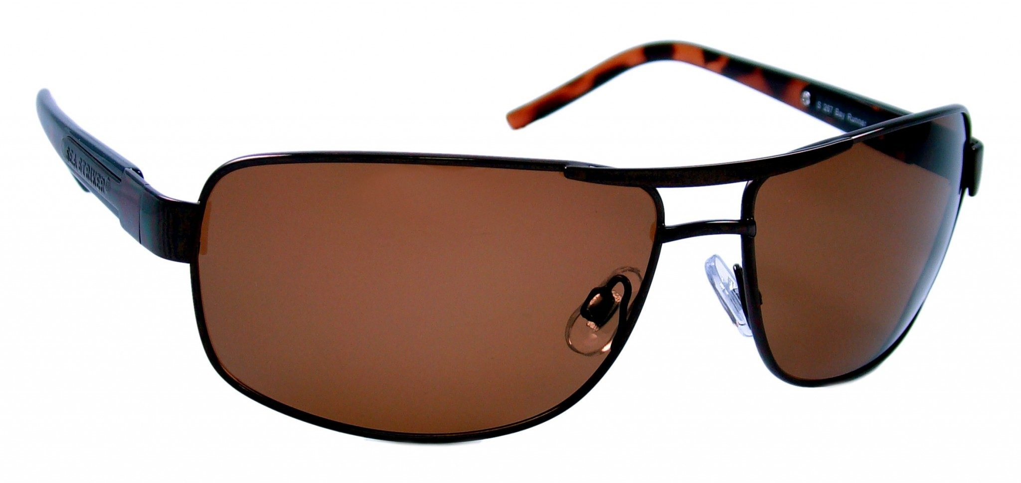 boating accessories- Bay Runner Tortoise/Brown Sunglasses