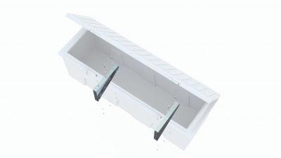 Aluminum Offset Dock Box Brackets breakout image