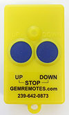 boat lift remote - GEM 2-button Xmitter Old Style