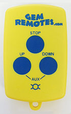 boat lift remote - GEM 3-Button Transmitter