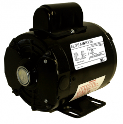 boat lift parts - Elite 1 hp Wired with Spring Switch:110V In-Line:GFCI:Harness:Plug