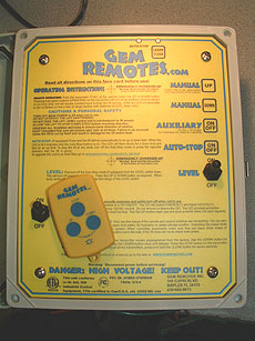 boat lift remote - GEM 2 Motor Remote Auto Stop KRLS
