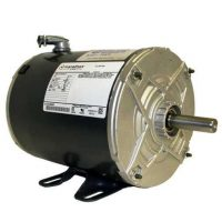 boat lift motor - Marathon 3/4HP Motor wired 110V Lock-on switch, 16ft cord, GFCI, and plug