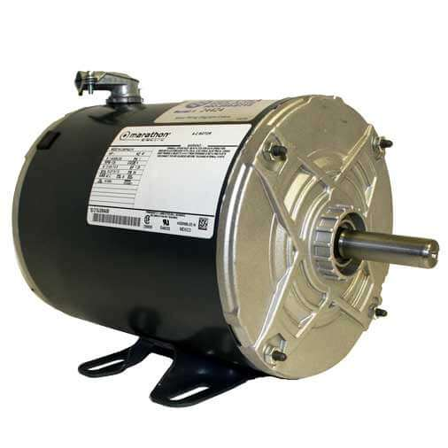 Marathon 3/4HP Wired 110V Motor | Boat Lift WarehouseBoat Lift Warehouse