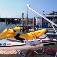 PWC / Kayak / Jet Ski stand in use