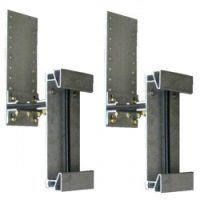 boat lift parts - ShorePort Flexi-Hinge Assembly (pair) (front of ShorePort to floating dock)