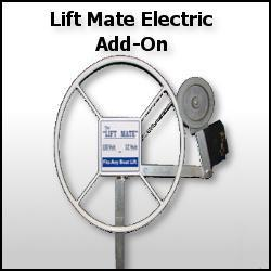 Shoreline lift mate 12 volt boat lift warehouse for Boat lift motors 12 volt