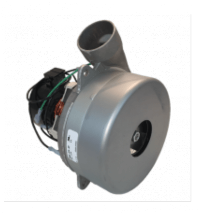 Replacement blower motor for air operated boat lift