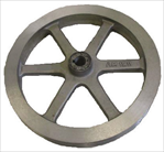 boat lift parts - Boat Hoist 10 inch Cast Aluminum Pulley