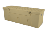 dock accessories - TitanSTOR Medium Tan Dock Box w/ Lock Set & Mounting Kit |