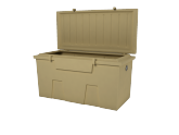 dock accessories - TitanSTOR Small Tan Dock Box w/ Lock Set & Mounting Kit