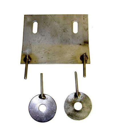 metal mounting hardware