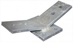 Bunk Bracket (Single) for Pontoon Cradle  Fits 4, 5 or 6 inch I-beam | 17535