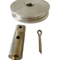 4-inch Aluminum Pulley
