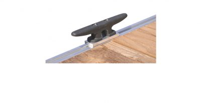 boat lift accessories - 8in Dock Ploy Cleat with Hardware for Poly Dock