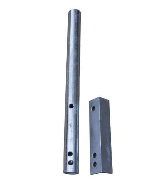 "Guide post stanchions for 6"" cradle beams bh-usa."