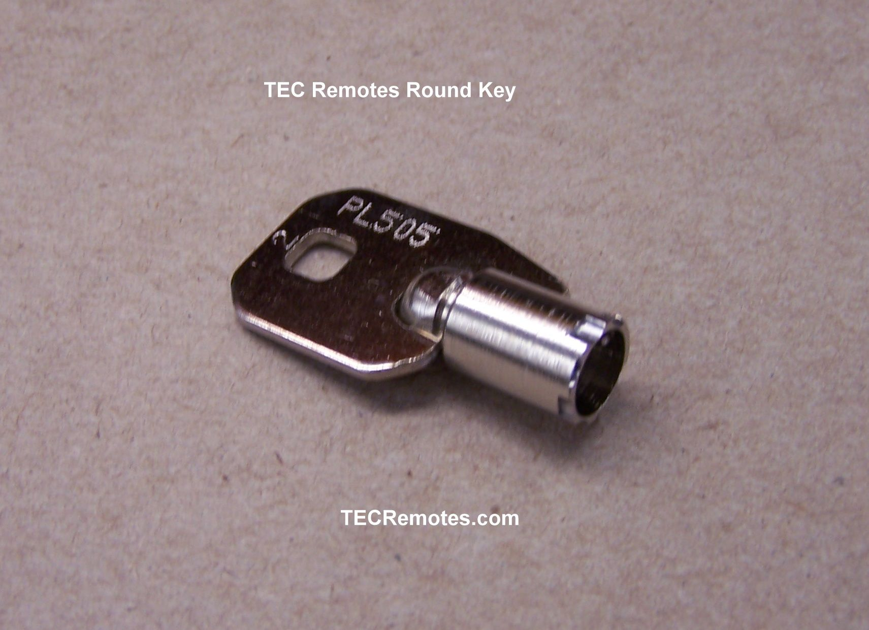 tec 2 old style round remote key