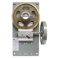 boat lift parts - 8500 lb Painted Advanced Dual Pulley Gear Plate Assembly (motor not included) | 1521