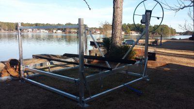 boat lift - lake lift - boathouse lift