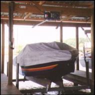 boathouse lifts - Cradle Side Kit Wood