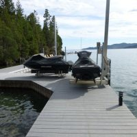Tide Tamer Swinger PWC Lifts (Dock/Seawall Mount)