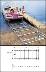 lake lifts - Roll-N-Go Pontoon