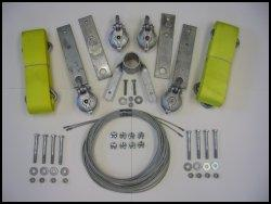 boat lift parts - Two Motor Sling Side Kit