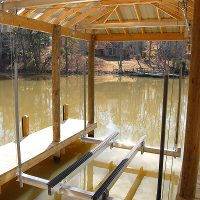 aluminum boathouse lifts