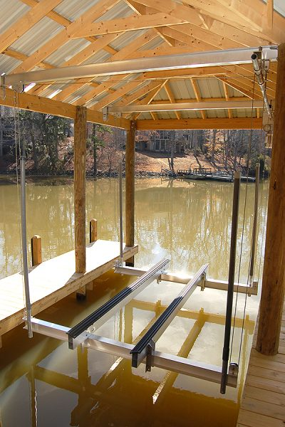 aluminum boathouse lifts