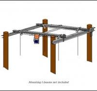 boathouse lifts - Pontoon Cradle Center Kit (For Steel Mounting)