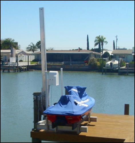 Tide Tamer Swinger PWC Lift | Boat Lift Warehouse