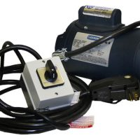 boat motors - Leeson .75hp boat lift motor wired