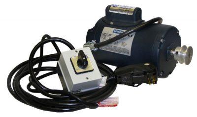 boat motors - Leeson .75hp boat lift motor wired