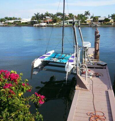 1500 pound Mini boat lift