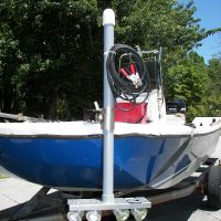 boat lift accessories - 40 watt LED flounder gig light system - 4500 Total Lumens (12 volt only)