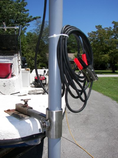 boat lift accessories - 40 watt LED flounder gig light system - 4500 Total Lumens (12 volt only)