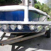 boat lift accessories - 80 watt LED flounder gig light system - 9000 Total Lumens (12 volt only)