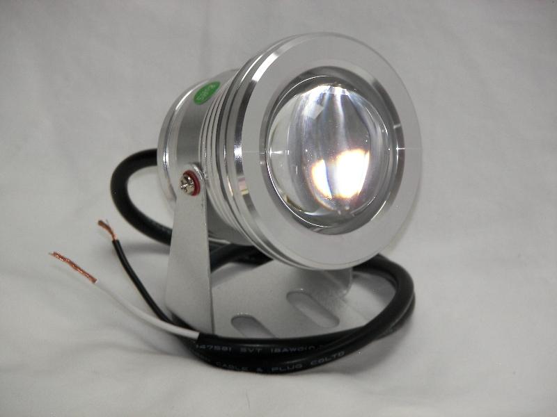 10 Watt Led Underwater Light 800 Total Lumens 12 Volt