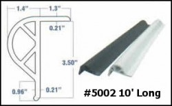 dock accessories - dock bumpers VINYL RUB RAIL #5002