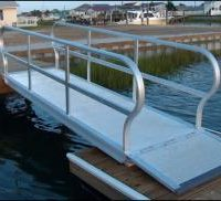gangways - aluminum commercial gangways