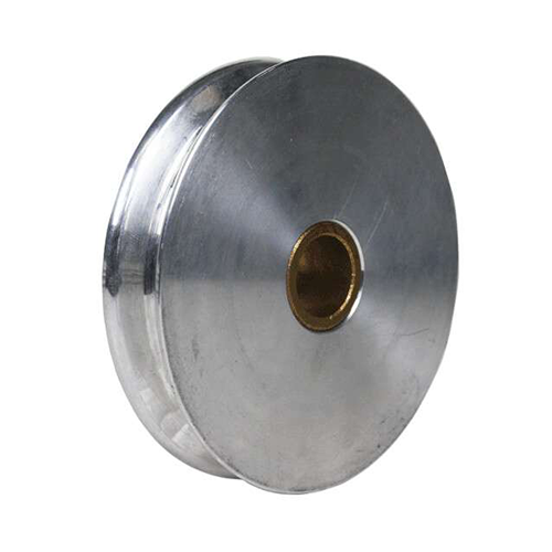 4in Aluminum Pulley With No Fasteners Or Hardware