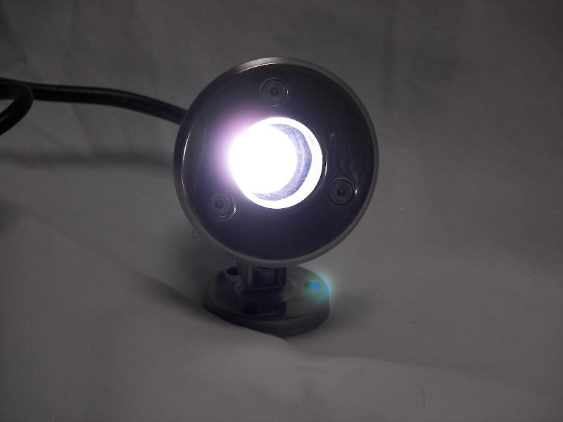 1 Watt White Led Stainless Dock Light