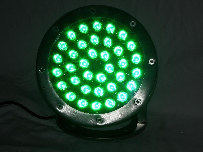 36 Watt Green Led Stainless Dock Light
