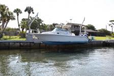 boat lift - davit pair