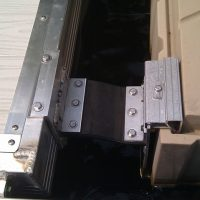 "1001127: Shoremaster Rubber Conveyor Belting Plate (11/16"" x 6""x8"") for Flexi Hinge   1415"